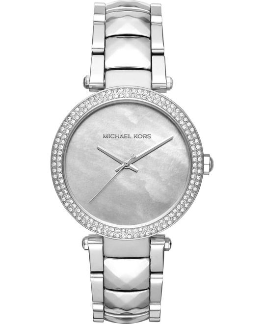 MICHAEL KORS Parker Mother Of Pearl Dial Ladies Watch 39mm