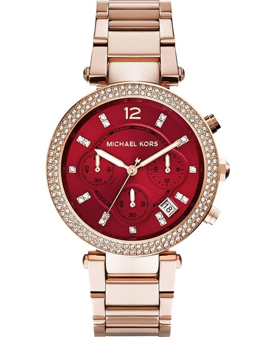 Michael Kors Parker Rose-Gold Women's Watch 39mm