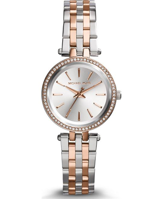 Michael Kors Darci Petite Silver Women's Watch 26mm