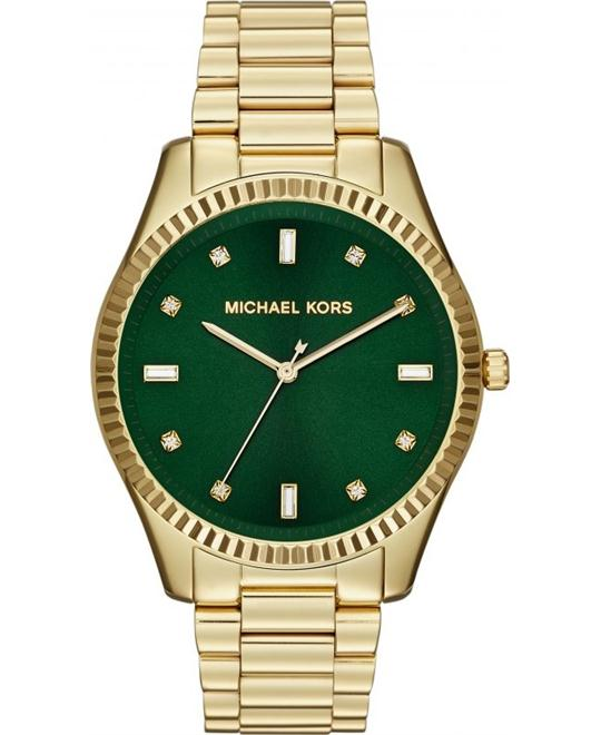 Michael Kors Blake Golden Green Men's Watch 42mm