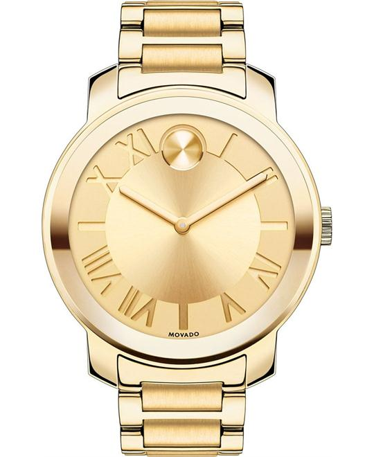 Movado Bold Gold Ion-Plated Women's Watch 39mm
