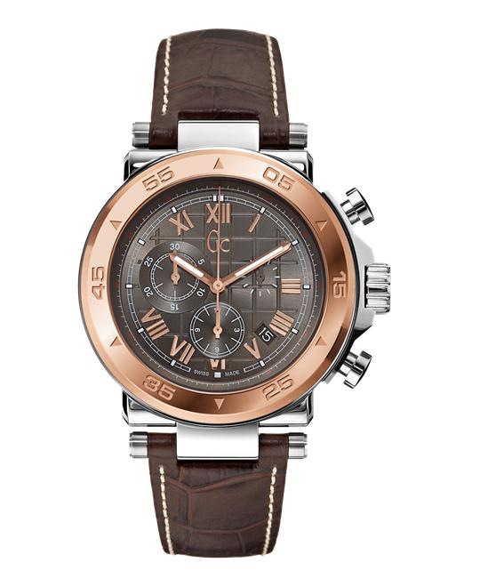 NEW GUESS COLLECTION GC -1 CLASS WATCH, 44MM