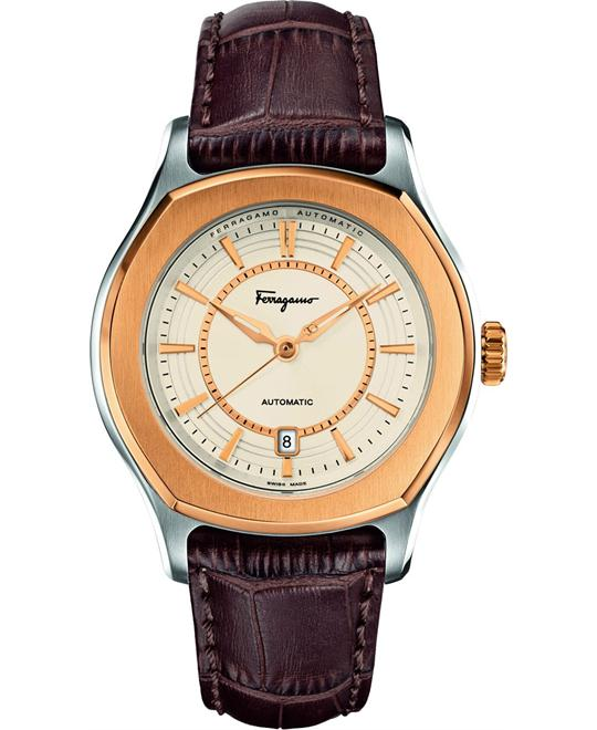 Salvatore Ferragamo Lungarno Beige  IP-Bezel Automatic 44mm