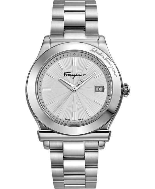 Salvatore Ferragamo 1898 Date Watch 39mm