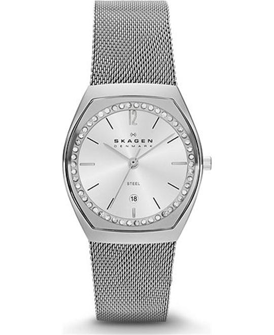 SKAGEN WOMEN'S THREE-HAND WATCH 28MM