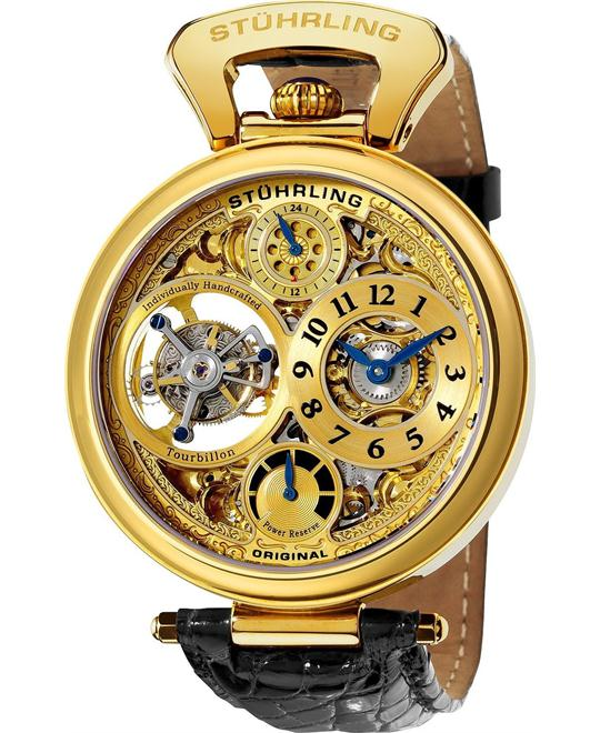 Stuhrling Original Tourbillon 127D.333531 Men's, 46mm