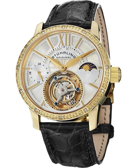 Stuhrling Original Tourbillon 296DS.333X2 Men's, 42mm