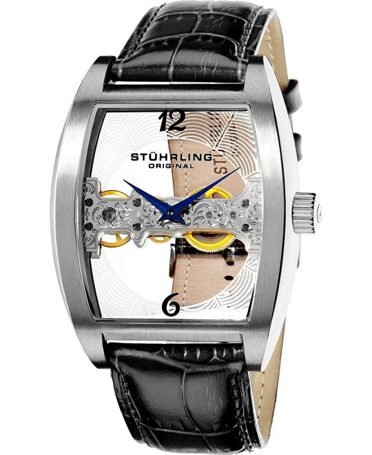 Stuhrling Original 303.33152 Millennia Ravine Mechanical Watch 43mm