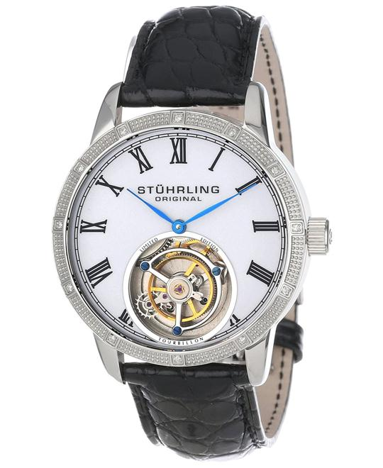 Stuhrling Original Tourbillon 312S.3315X3 Men's Diamond, 40mm