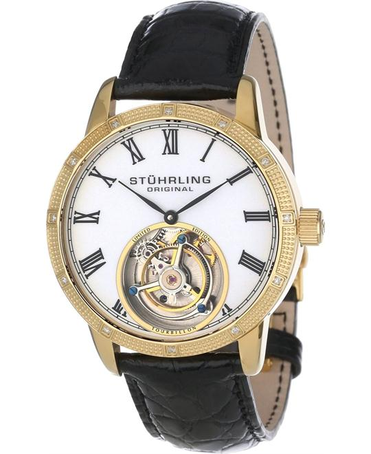 Stuhrling Original Tourbillon 312S.3335X15 Men's Diamond, 40mm