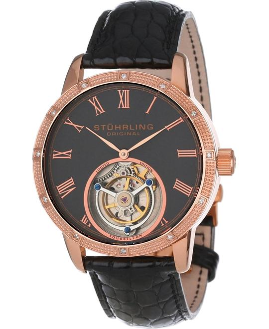 Stuhrling Original 312S.3345X54 Men's Diamond, 40mm