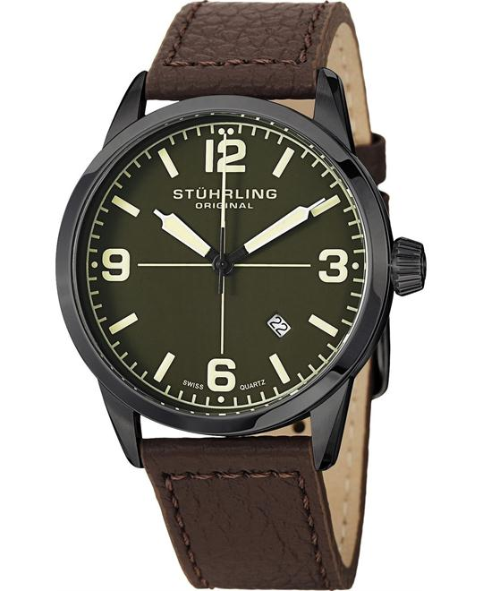 Stuhrling Original 449.3355K5 Men's Swiss, 42mm