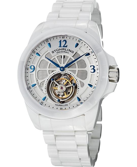 Stuhrling Original Tourbillon 475.33EP3 Men's Limited, 47mm