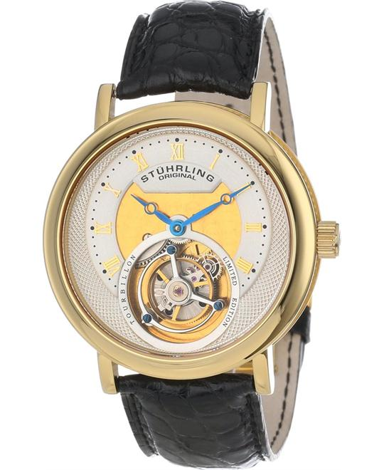 Stuhrling Original Tourbillon 502.333X2 Men's Circular, 42mm