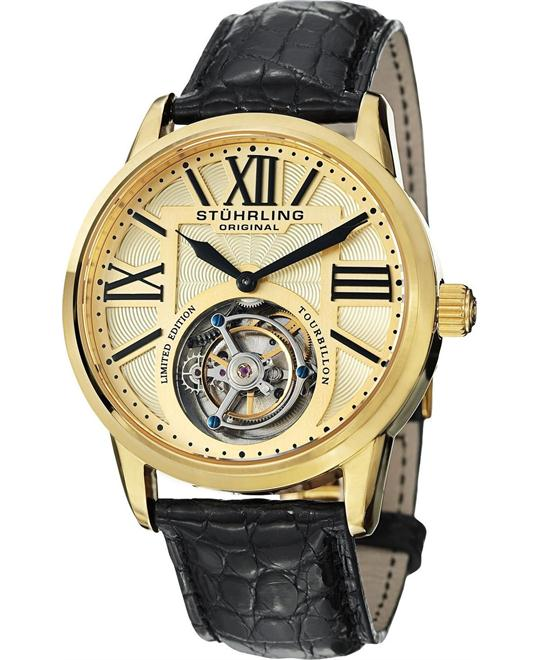Stuhrling Original 537.333X31 Men's Tourbillon, 42mm