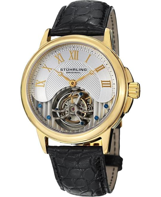 Stuhrling Original Tourbillon 541.333X2 Men's Aureate, 42mm