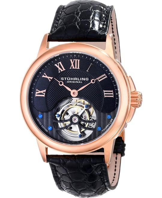 Stuhrling Original 541.334XK1 Men's Tourbillon, 42mm