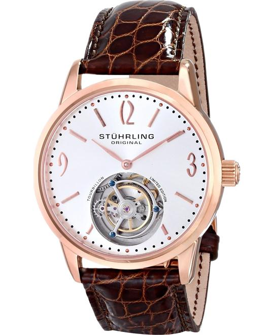 Stuhrling Original Tourbillon 542.334XK2 Men's Cuvette, 41mm