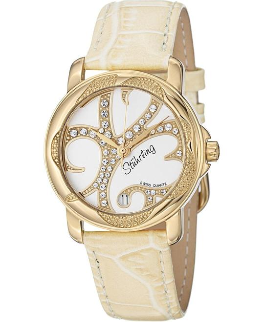 Stuhrling Original 138.123S2 Women's Swiss Swarovski, 34mm