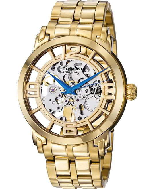 Stuhrling Original165B2B.333331 Men's 23k Automatic Watch, 43mm