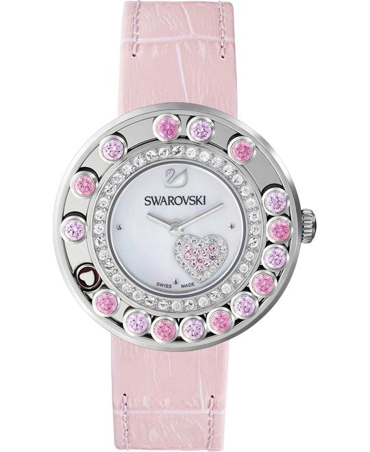 Swarovski Lovely Crystals Heart Ladies' Watch Authentic 35mm