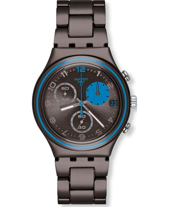 Swatch Blauerfleck Mens Watch, 40mm