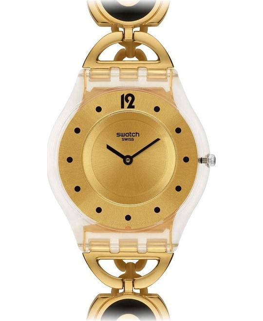 Swatch Caring Swing Ladies Watch, 34mm