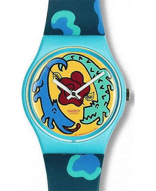 Swatch Cayman Designed by Louise Gibb 34mm