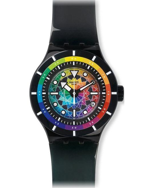 Swatch Chromatic Water Unisex Watch, 42mm