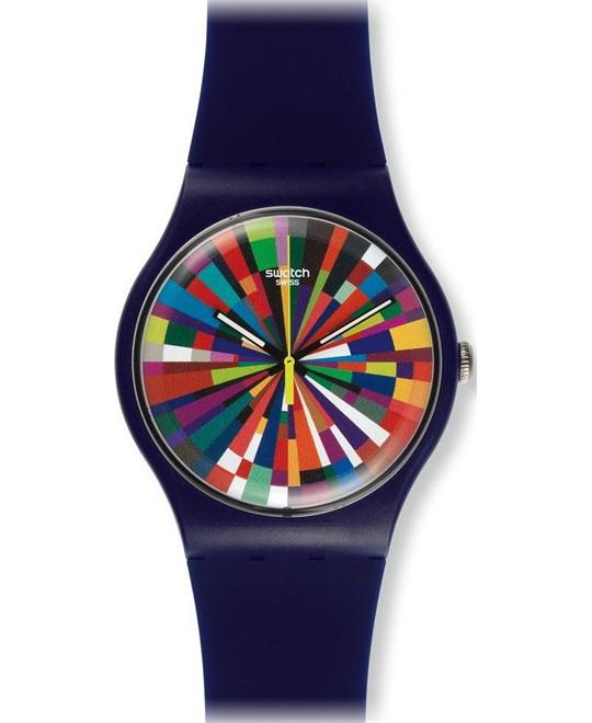 Swatch Color Explosion Unisex Watch, 42mm