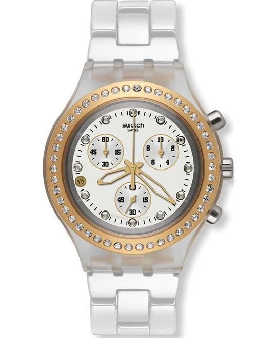 Swatch Full-Blooded Marvelous Plastic Ladies Watch 43mm