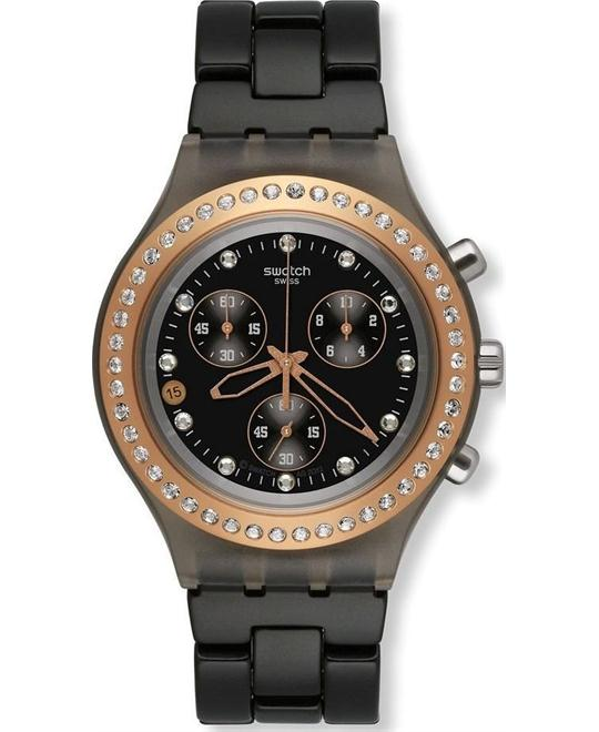 Swatch Full Blooded Stoneheart Aluminum Unisex Watch 43mm