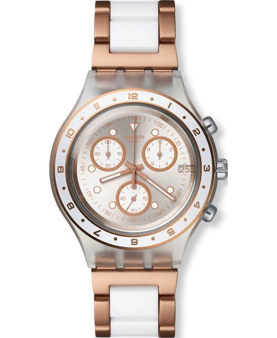 Swatch Hat Trick Chrono Dial Women Watch NEW