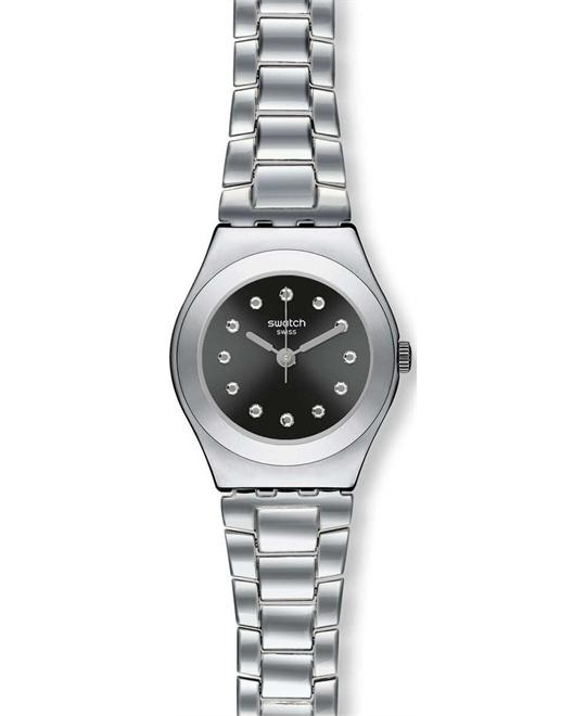 Swatch Irony Be Surprised Black Ladies Watch 25mm