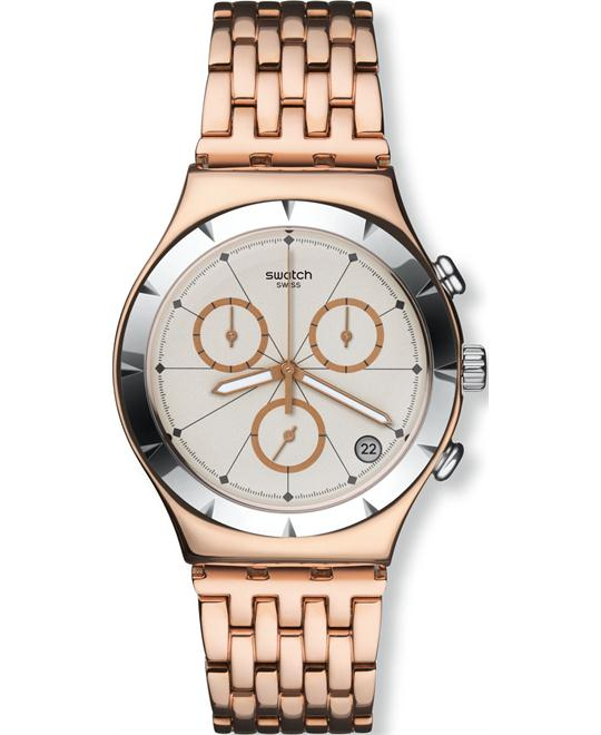 Swatch Pushback Chrono Unisex Watch NEW, 46mm