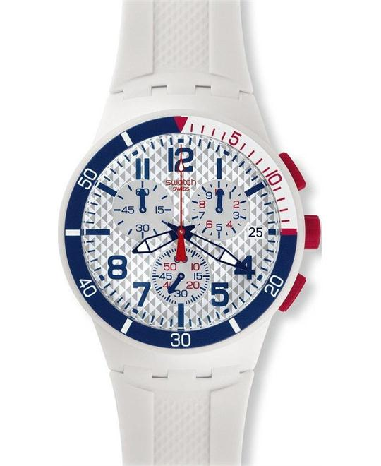 SWATCH SPEED UP UNISEX WATCH. 42MM
