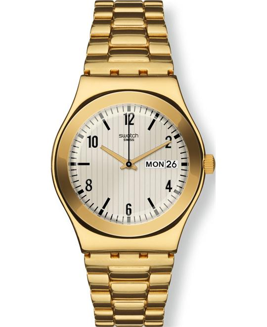 Swatch Sterntaler Off White Unisex Watch, 32mm