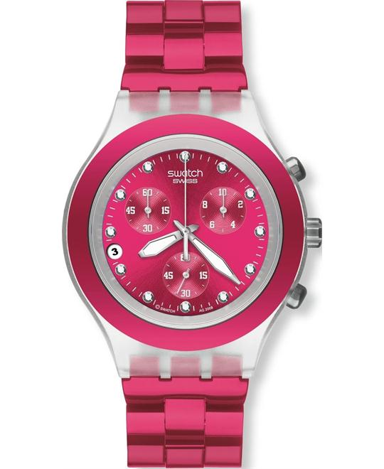 Swatch Swiss Chronograph Ladies Watch - 39mm