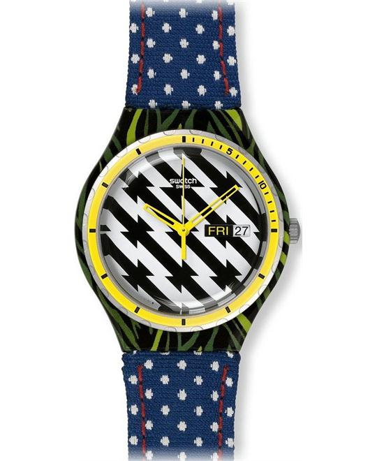 Swatch TIGER BABS, watch 37mm