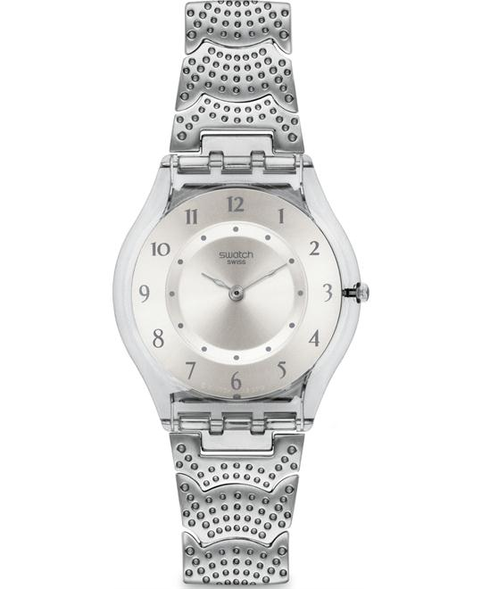 Swatch Two Steps Grey Analog Women Watch, 34mm