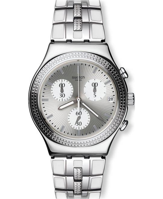 Swatch Watch unisex CRYSTAL CASCADE, 43mm