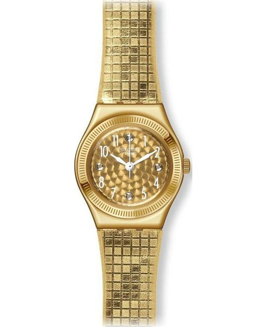 Swatch Women's Irony Gold Swiss Watch, 25mm