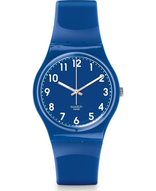 Swatch Zaf Blue Unisex Watch 34mm