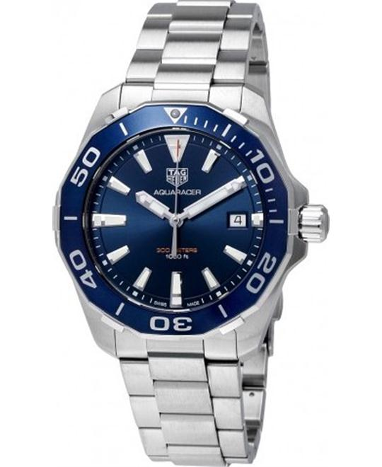 Tag Heuer Aquaracer Blue Dial Men's Watch 41mm