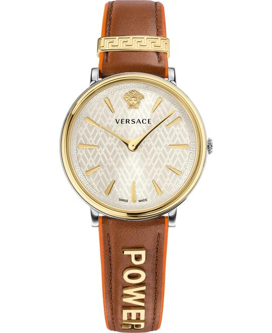 Versace V-circle Manifesto Power Watch 38mm