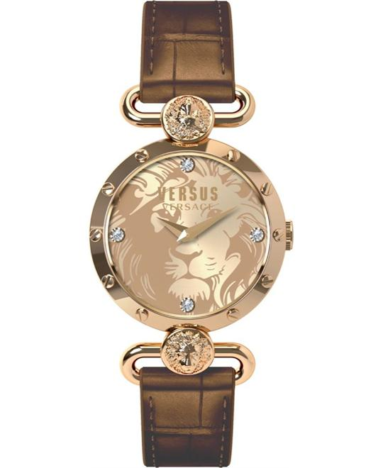 Versus by Versace Sunnyridge IP Gold Watch 34mm