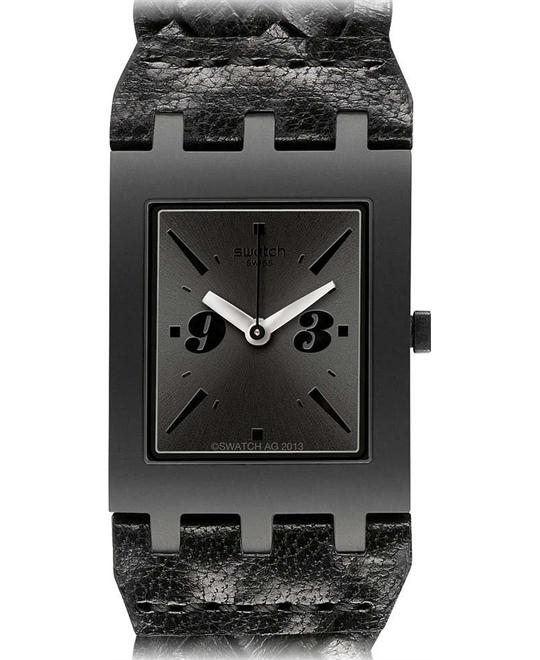 Watch Swatch BLACK BRAID, 24mm