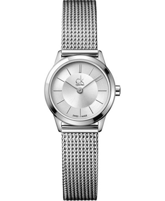 Women's Calvin Klein Minimal Mesh Watch 25mm