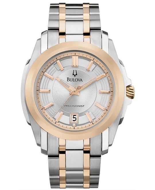 Bulova Men's Two Tone Watch 44mm