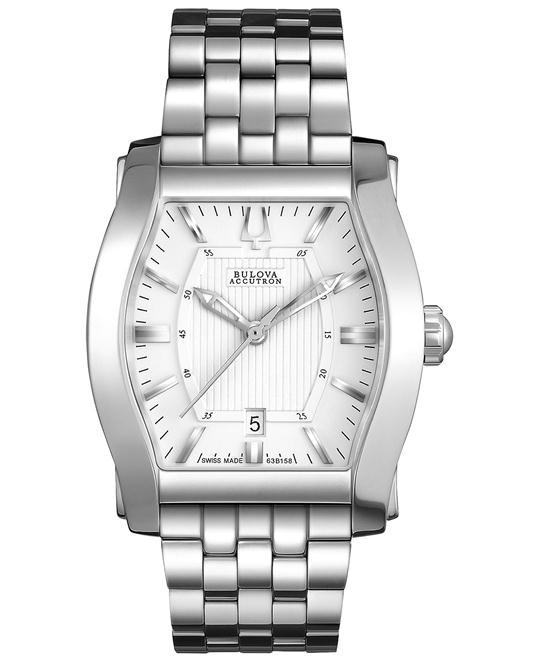 Bulova Men's Swiss Stratford Stainles, 31x29mm